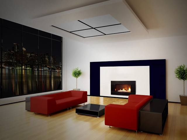 Indoor Gas Fireplace - Fireplace Source