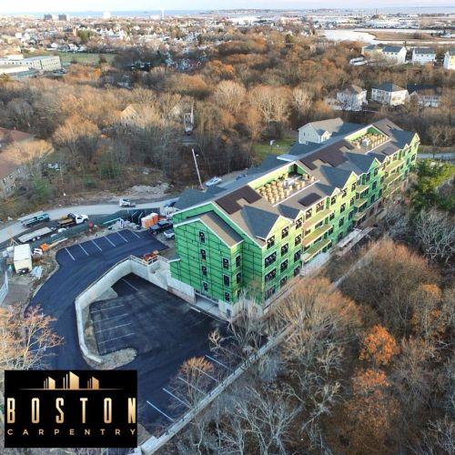 Boston Carpentry, LLC - 55 Unit Apartment Complex-Framing, Windows ...