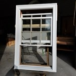 1912 WIndow Restoration, ready for final painting.                        - Wood Window Restoration