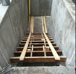 commercial Stair Well - Mill City Hardscape LLC