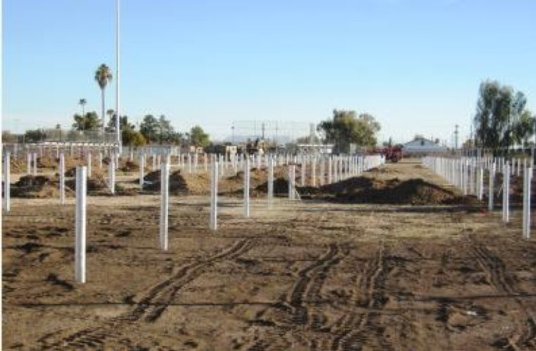 Santa Cruz Shool District 227kW Solar Project - Buesing Corp.