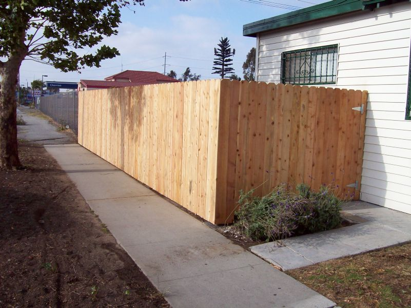 Wooden Fence Project - King Fence Inc.