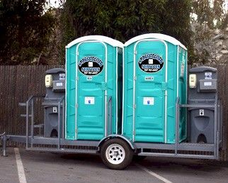 Trailer Mounted Restrooms  - Sanitation Services, Inc.