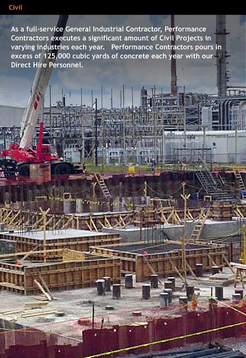 Performance Contractors Inc Baton Rouge Louisiana Proview