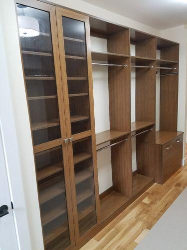 Adams Custom Cabinetry Bamboo Closet
