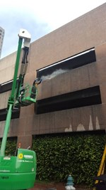 Entergy Center, New Orleans - Spoogie Striping & Pressure Washing