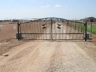 Ornamental Iron Fence - Empire Fence