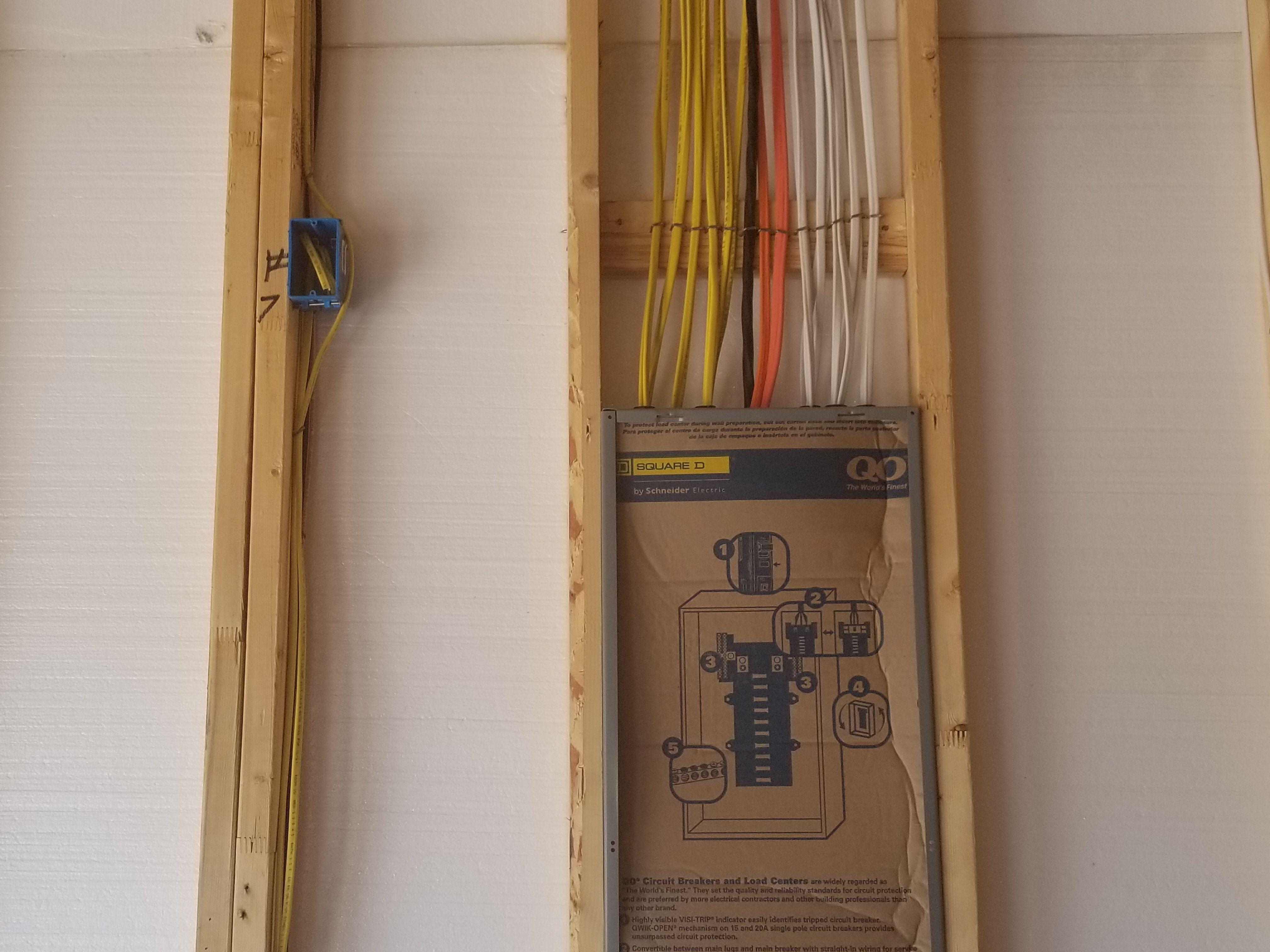 Freeman Construction Ready Electrical New Panel Trippedcircuitbreakerpaneljpg