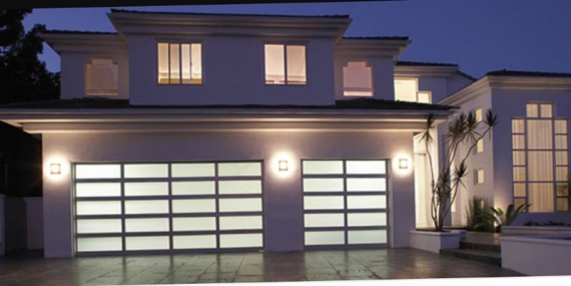 South Florida Garage Doors Inc Vista Glass Dpor Residential