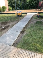 sidewalk-removal-and-pour-back - IronKlad Concrete Cutting