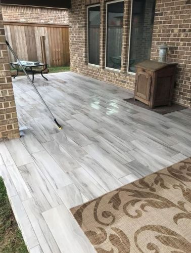 Wood Look Tile For Back Patio By In Tx Proview