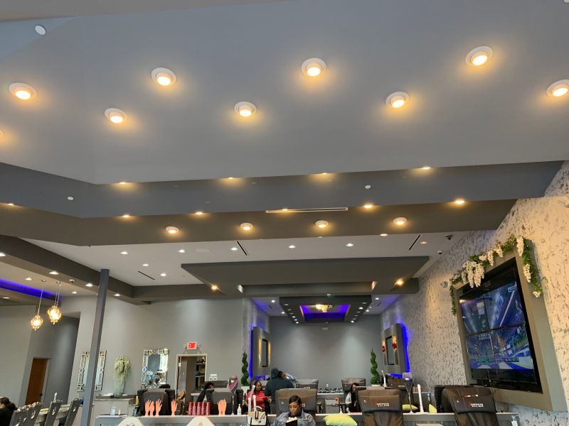 Organic Salon Lighting