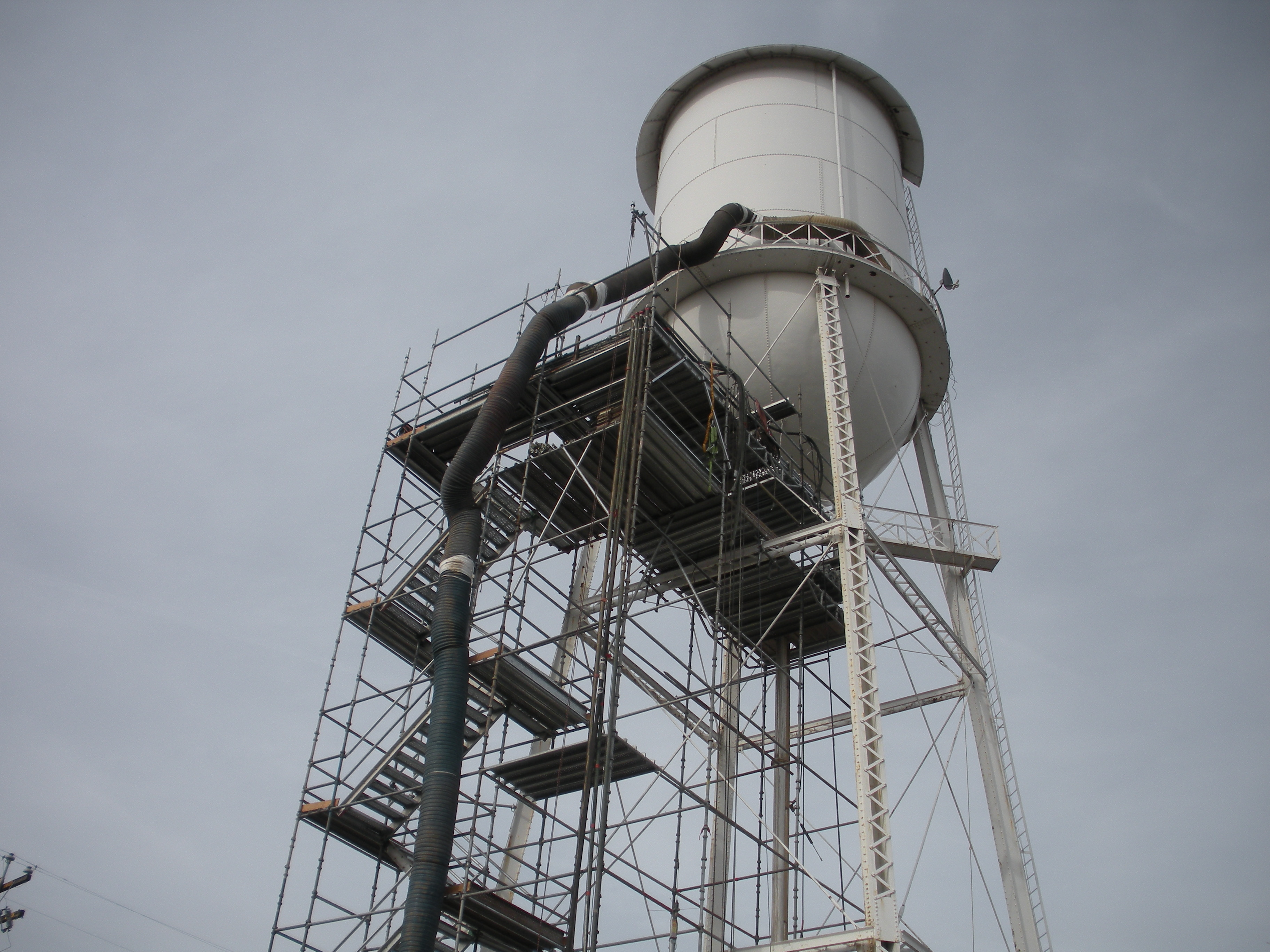 City of Williams Water Tank - Jeffco Painting & Coating, Inc.