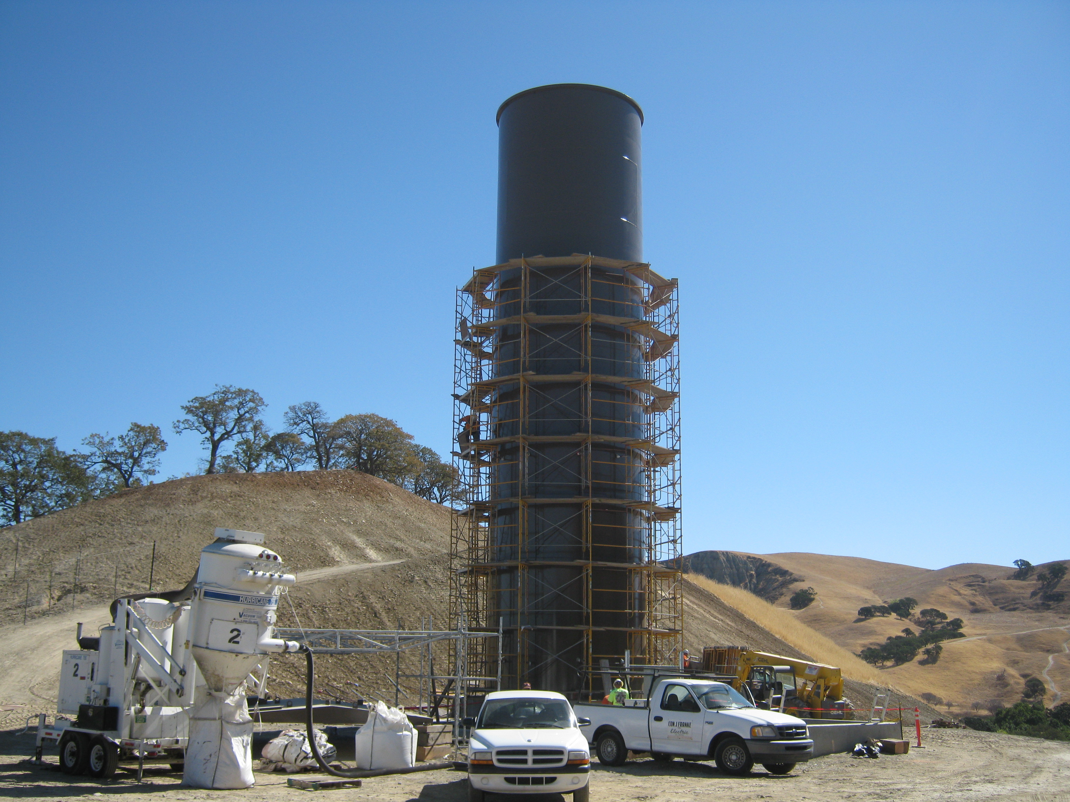 DWR Wente Tank - Jeffco Painting & Coating, Inc.