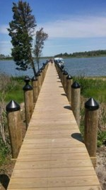 Masseys Landing - Crabbing Pier - Mid-Shore Electrical Services Inc.