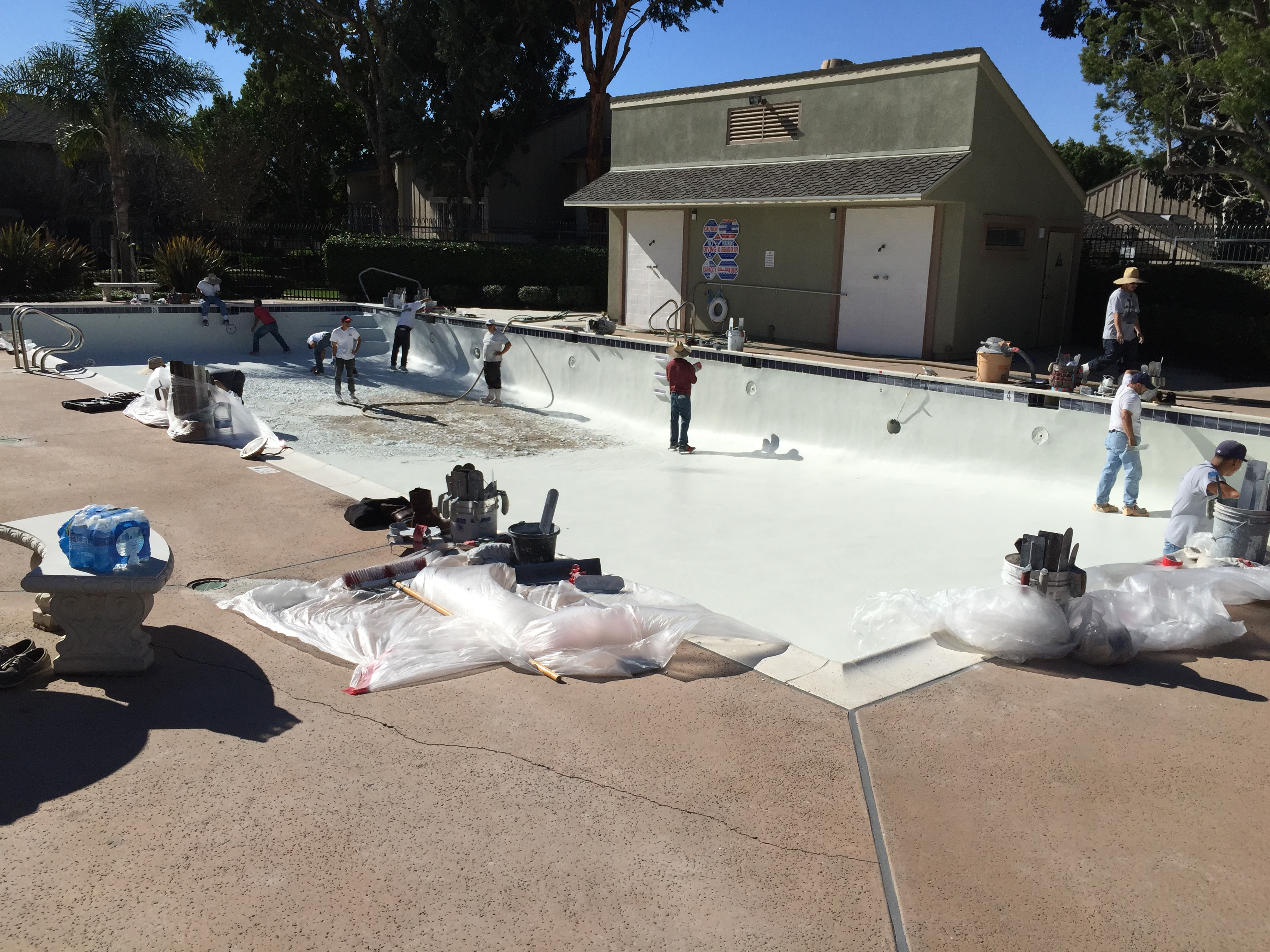 Company Photos  - Design Plastering/Complete Pool Renovations