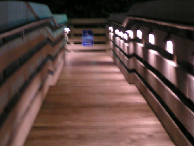 Acapulco Restaurant - Low Voltage Lighting for ADA Ramp Photo 1 - Candee Electric