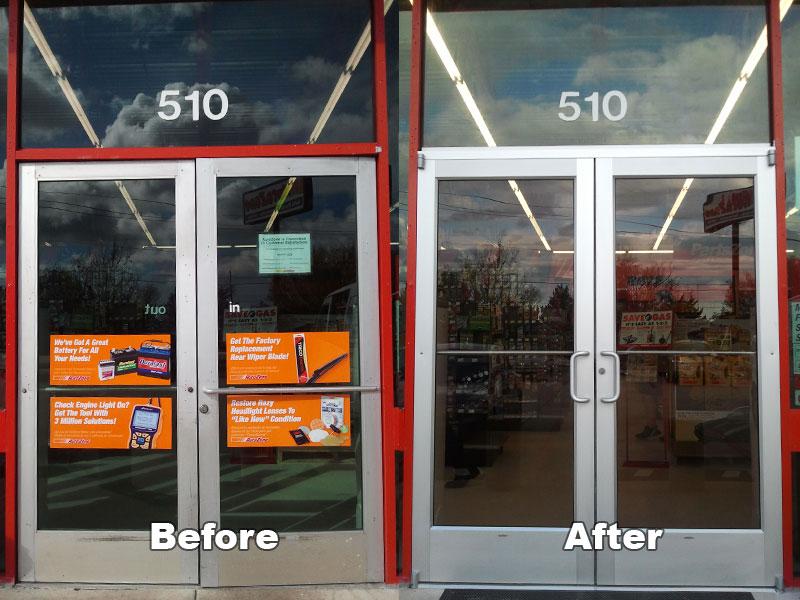 Ace Door Window Commercial Door Before After Image Proview
