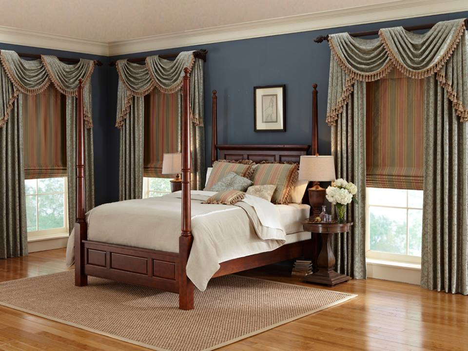 Window Valances with Drapes and Window Shades - Budget Blinds of Milpitas