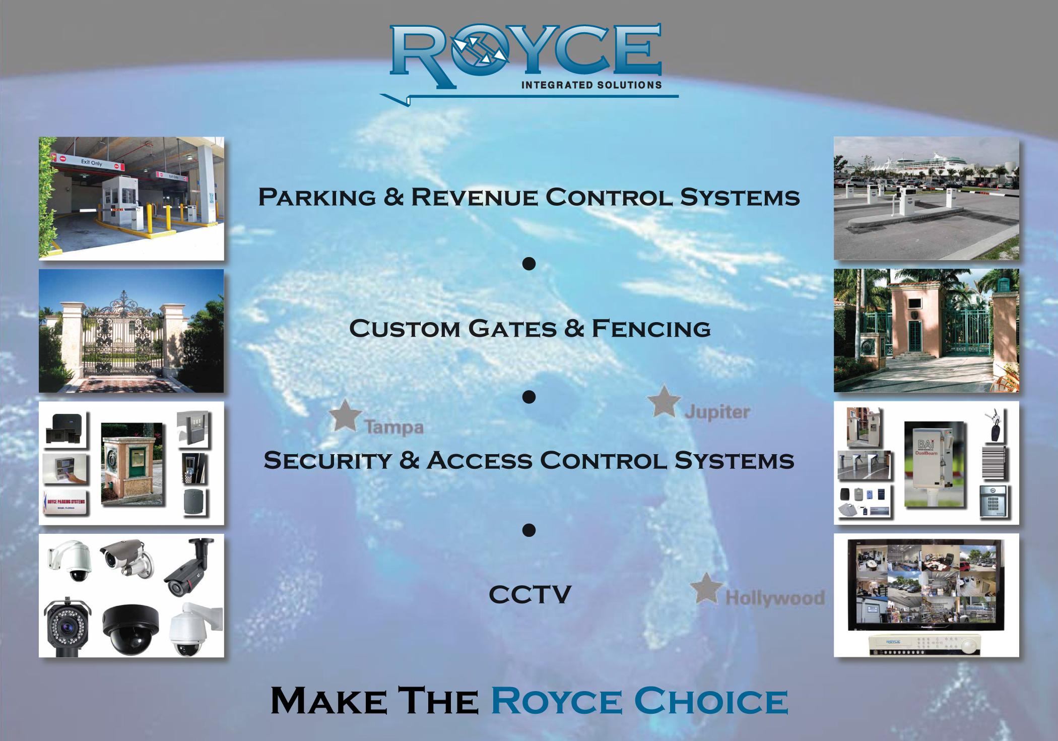 Royce Parking Control Systems Inc Hollywood Florida