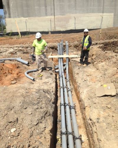 The Crossing Apartments Dc: SEH Excavating Contractors, Inc.