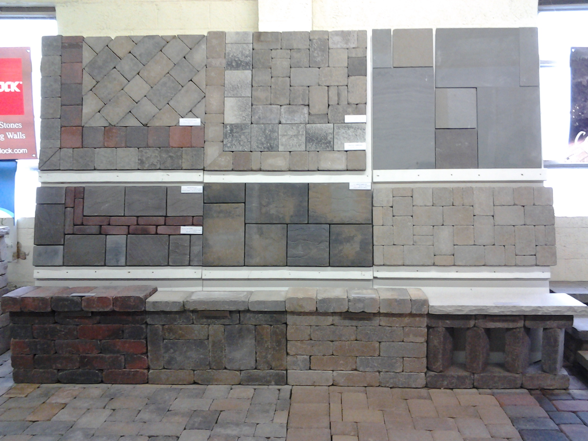 Landscape Stone Supply Showroom Boards Image Proview