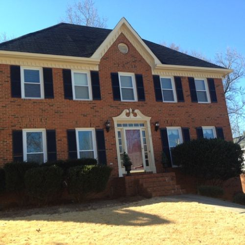 exterior paint and wood repairs in acworth by in acworth ga proview