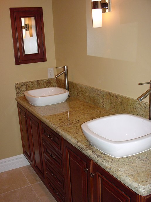 Custom Bathroom Cabinets - Creative Cabinets & Design Inc.