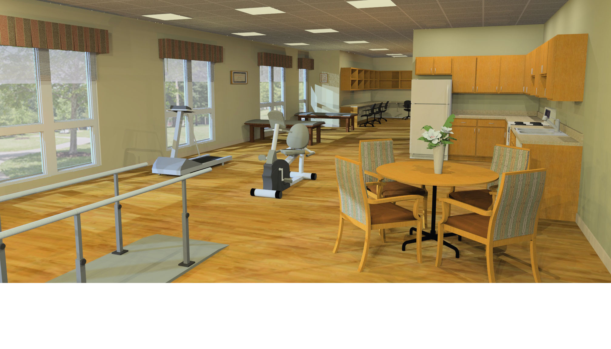 High Quality ... Harbor Healthcare Therapy Expansion Flooring Solutions Inc