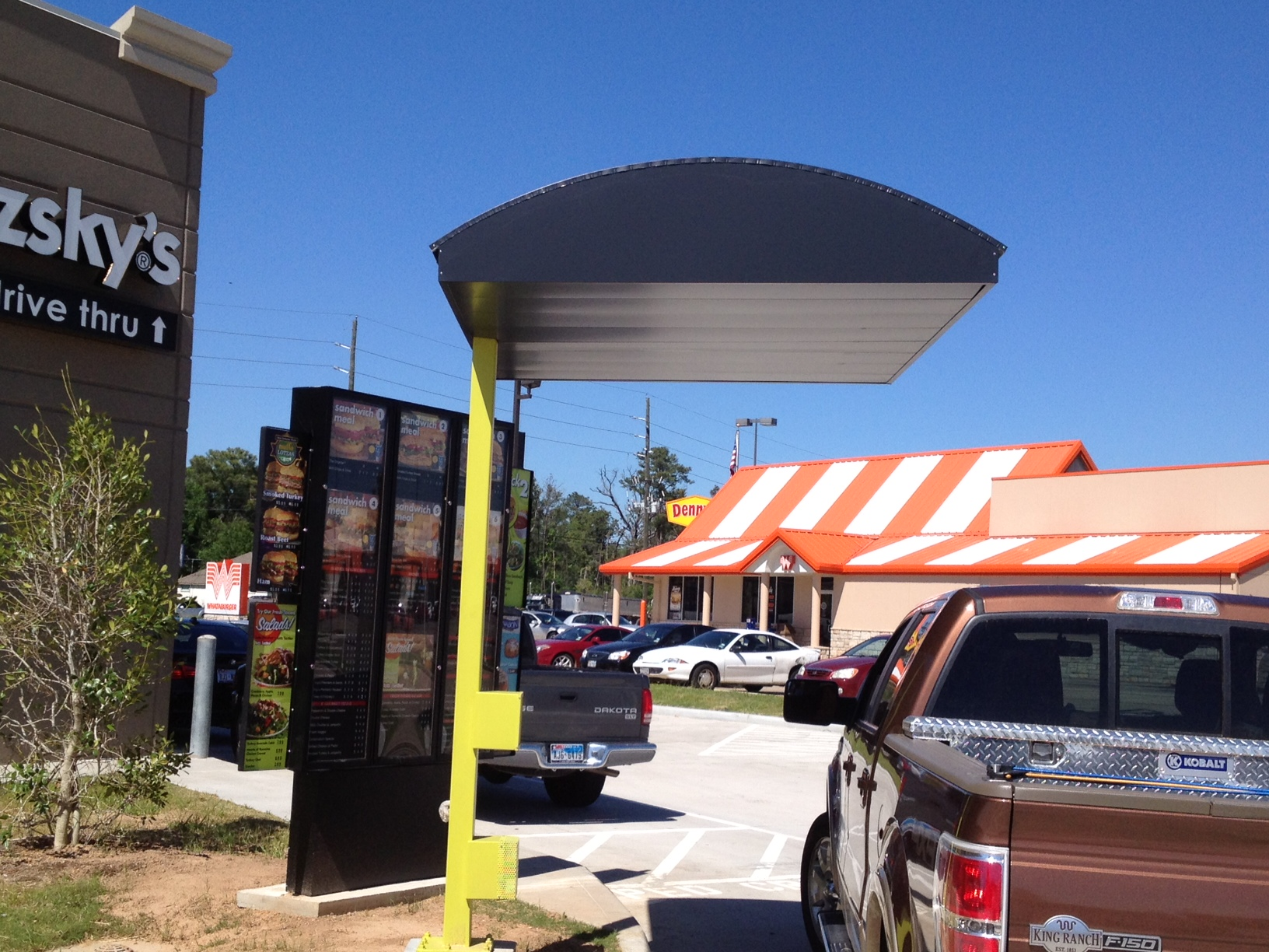 American Construction of Texas - Commercial METAL Awnings & Canopies