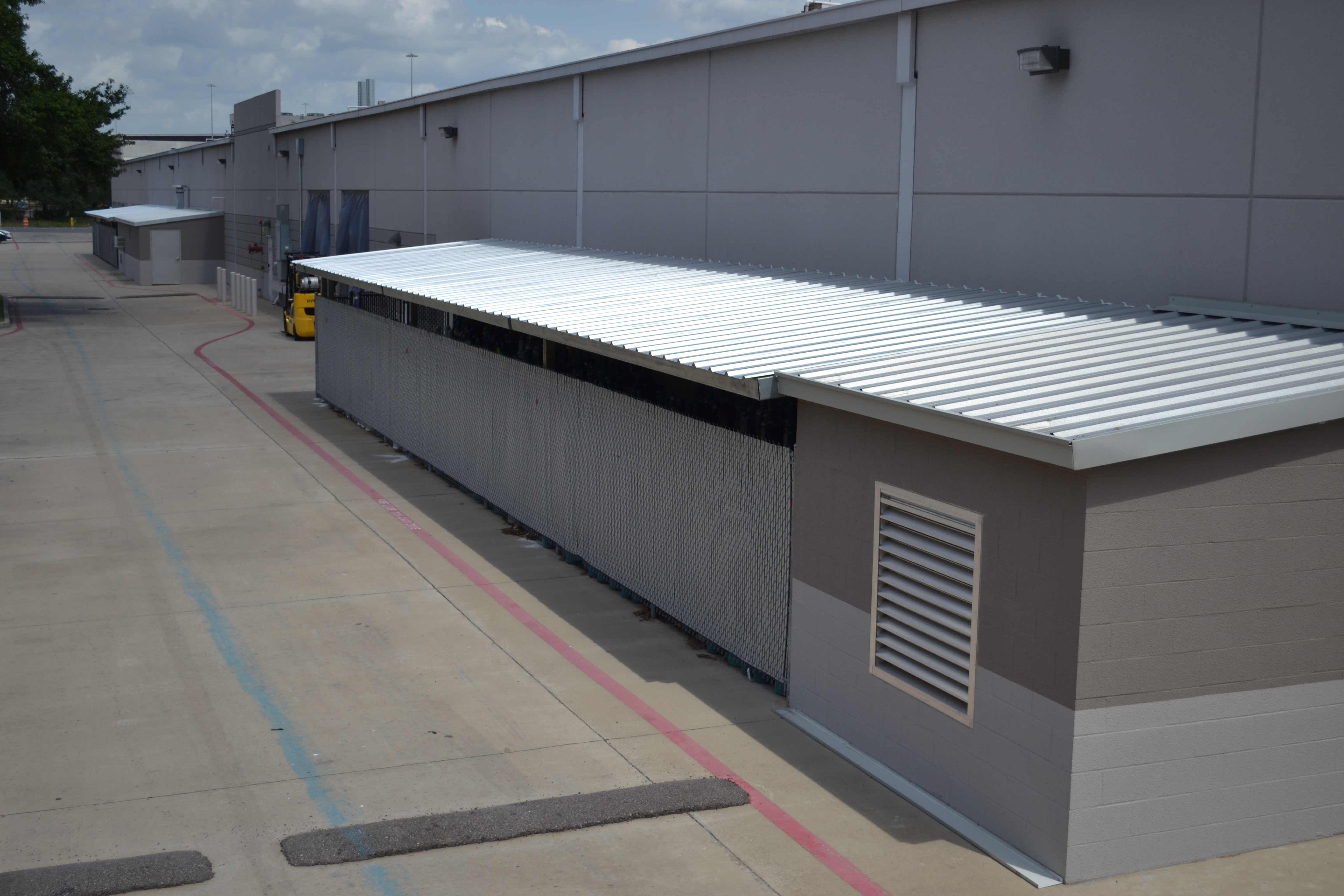 American Construction Of Texas Metal Storage Canopies