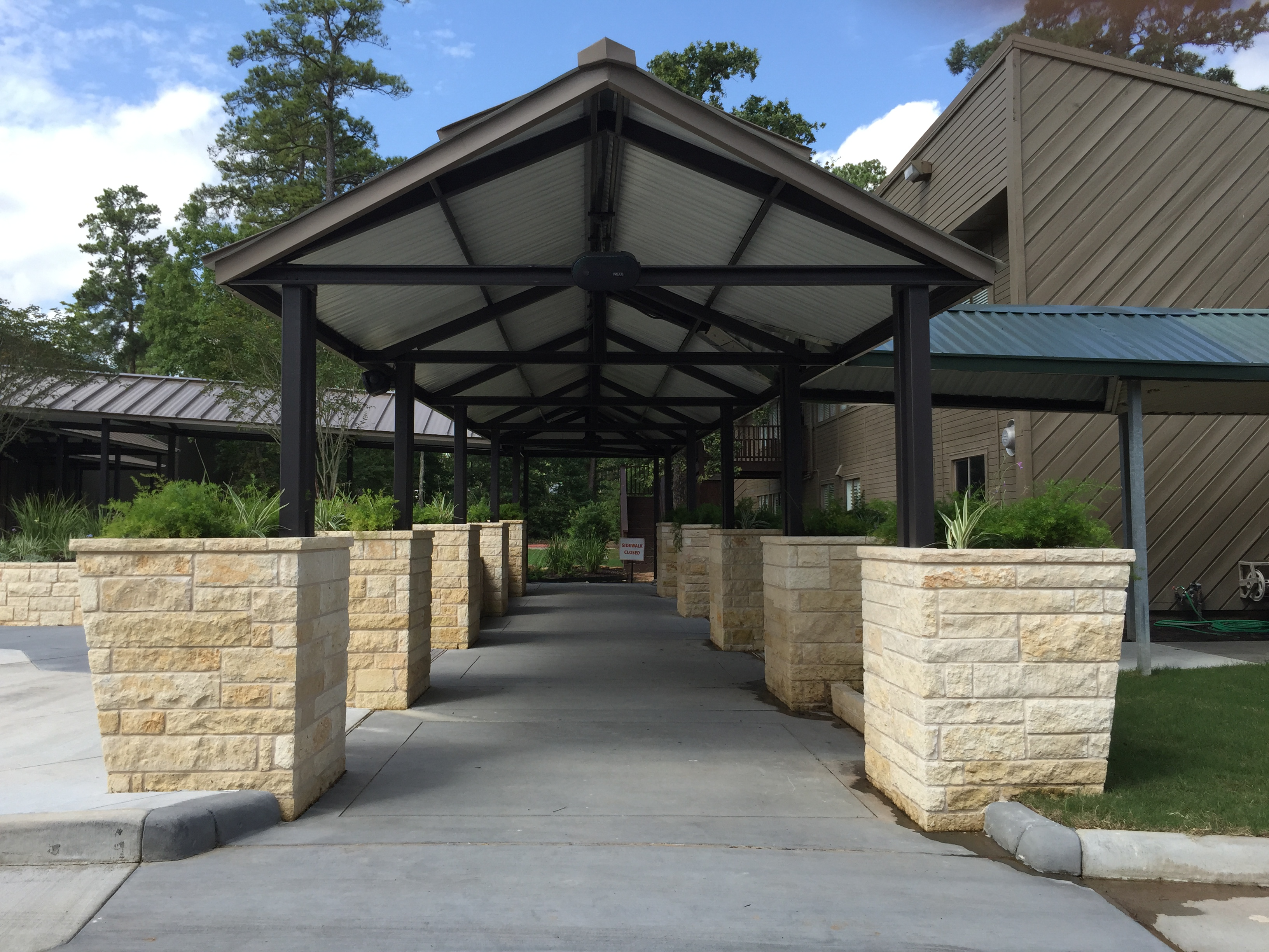 American Construction Of Texas Commercial Metal Awnings