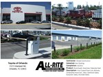 Toyota of Orlando - All-Rite Fence Services, Inc.