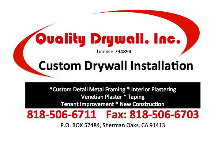 Quality Drywall, Inc. - Sherman Oaks, California | ProView
