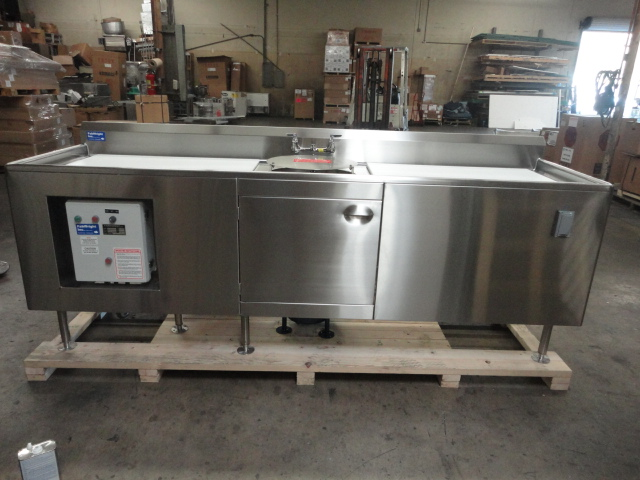 Custom Stainless Steel Fish Cleaning Station