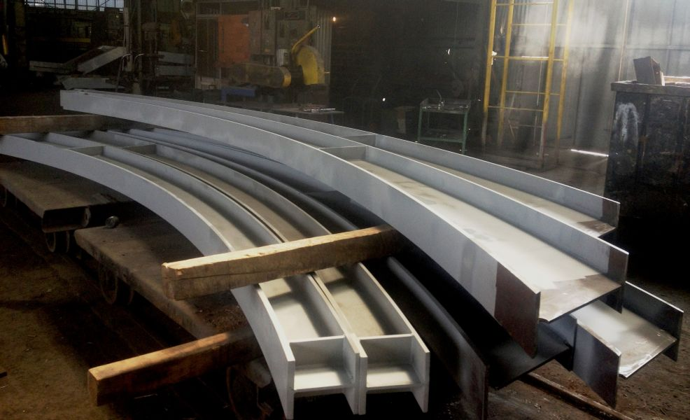 Curved Beam - Southern California Steel
