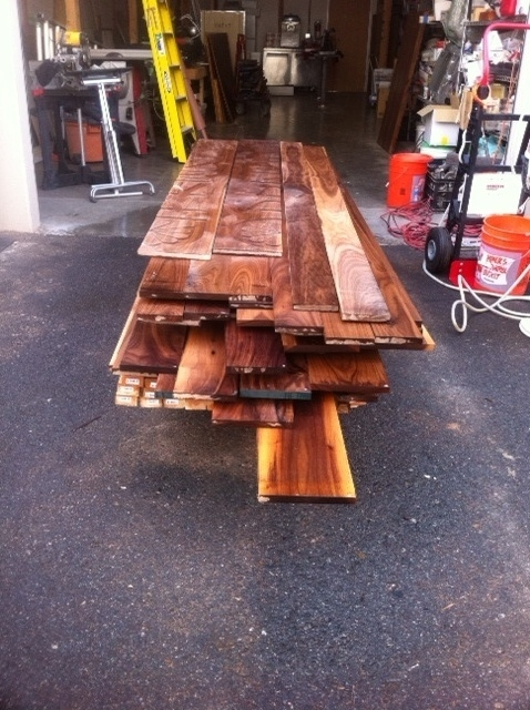Lumber - Before - California Fire-Shield