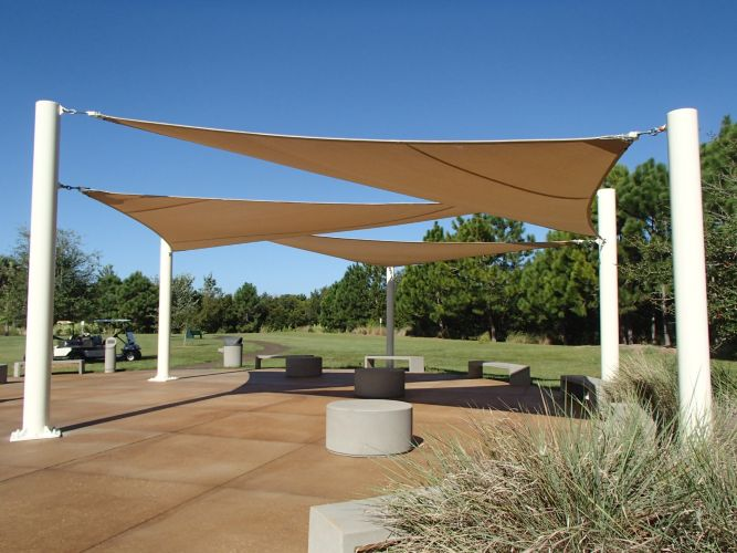 Tension Shade Sails By In St Petersburg Fl Proview