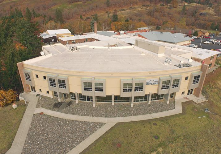 White Salmon Hospital Photo 2 Peive Mercial Roofing