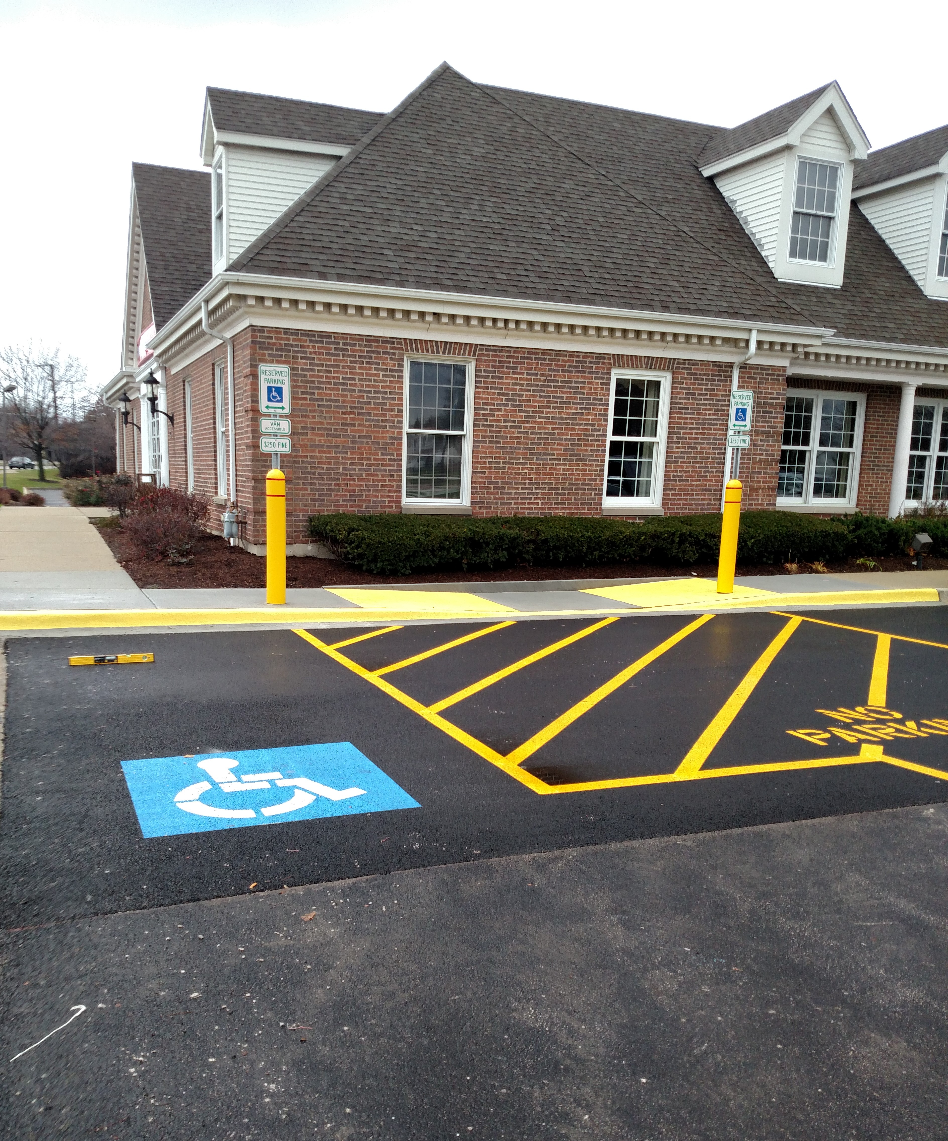 accu paving co broadview illinois proview ada compliant parking accu paving co