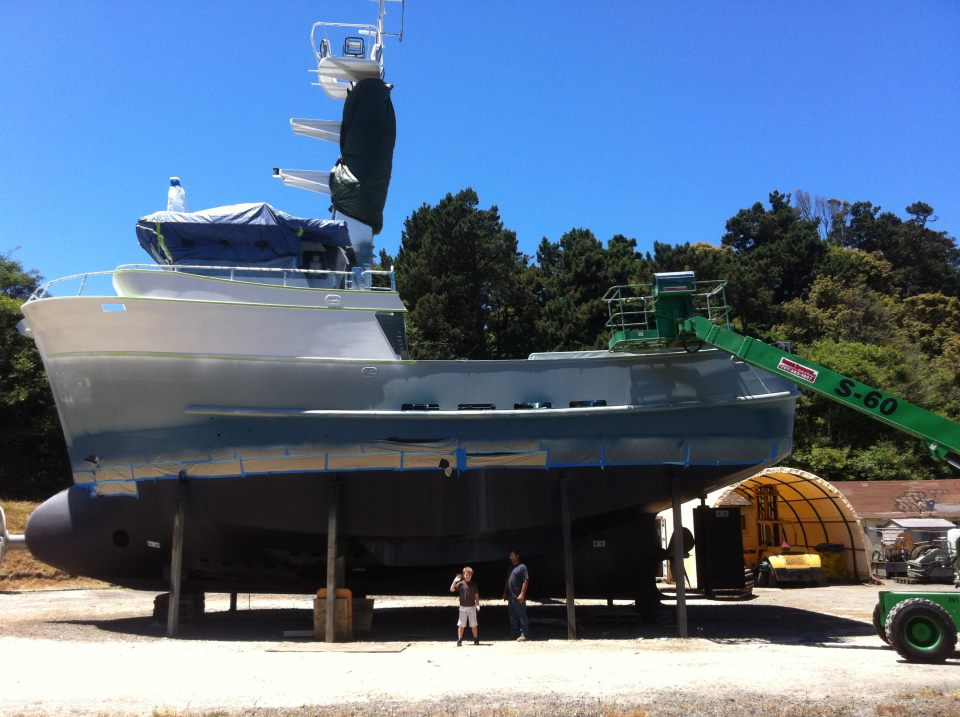 Fishing Boat Move - Trost Jacking & Heavy Moving, Inc.