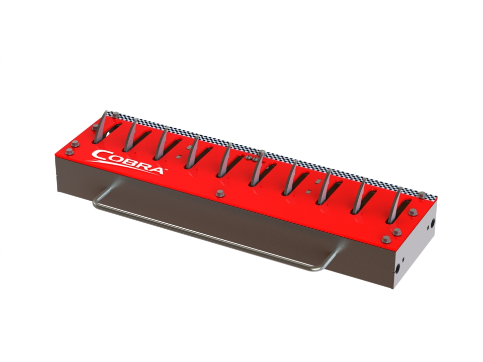 COBRA 3' & 6' Manual In-Ground Traffic Spike Section Models 11300/ 11600 - Guardian Traffic Systems