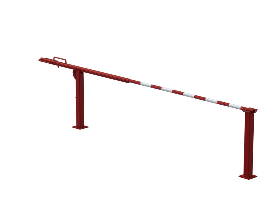 SENTINEL 12', 16' & 20' Manual Rising Barrier Arm Model 14000 - Guardian Traffic Systems