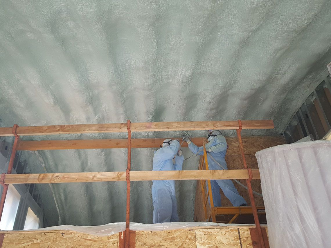 Cool-Roof Systems - Insulation - Residential Closed Cell