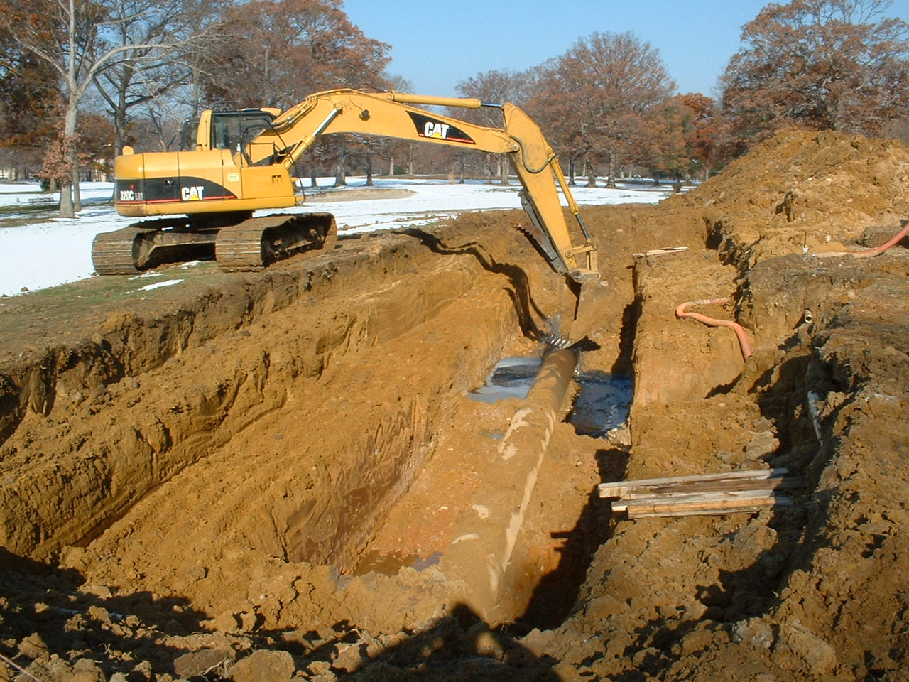 Utility Construction & Excavation Services