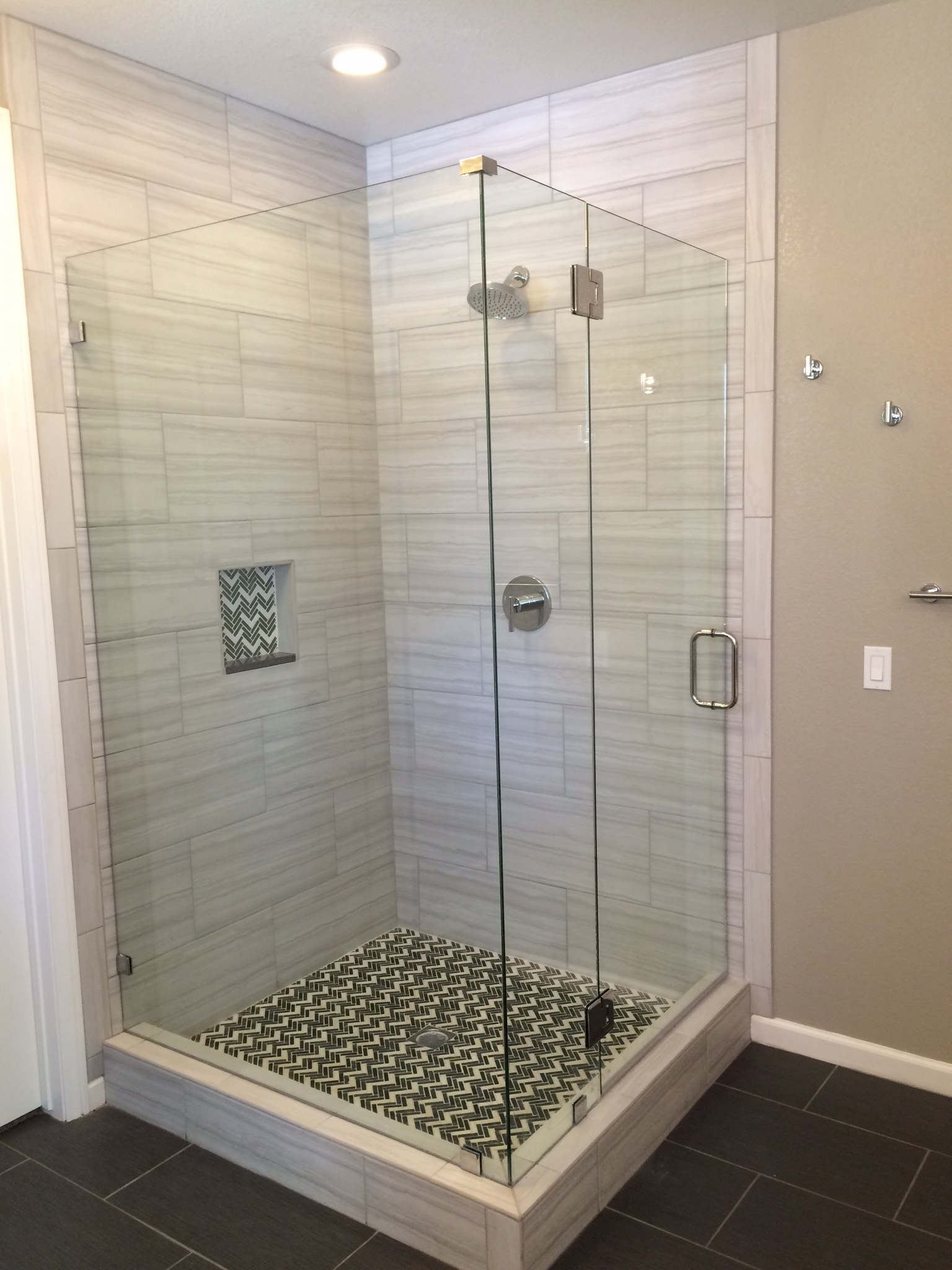 Procraft Door Glass Heavy Glass Shower Corner Unit Image Proview