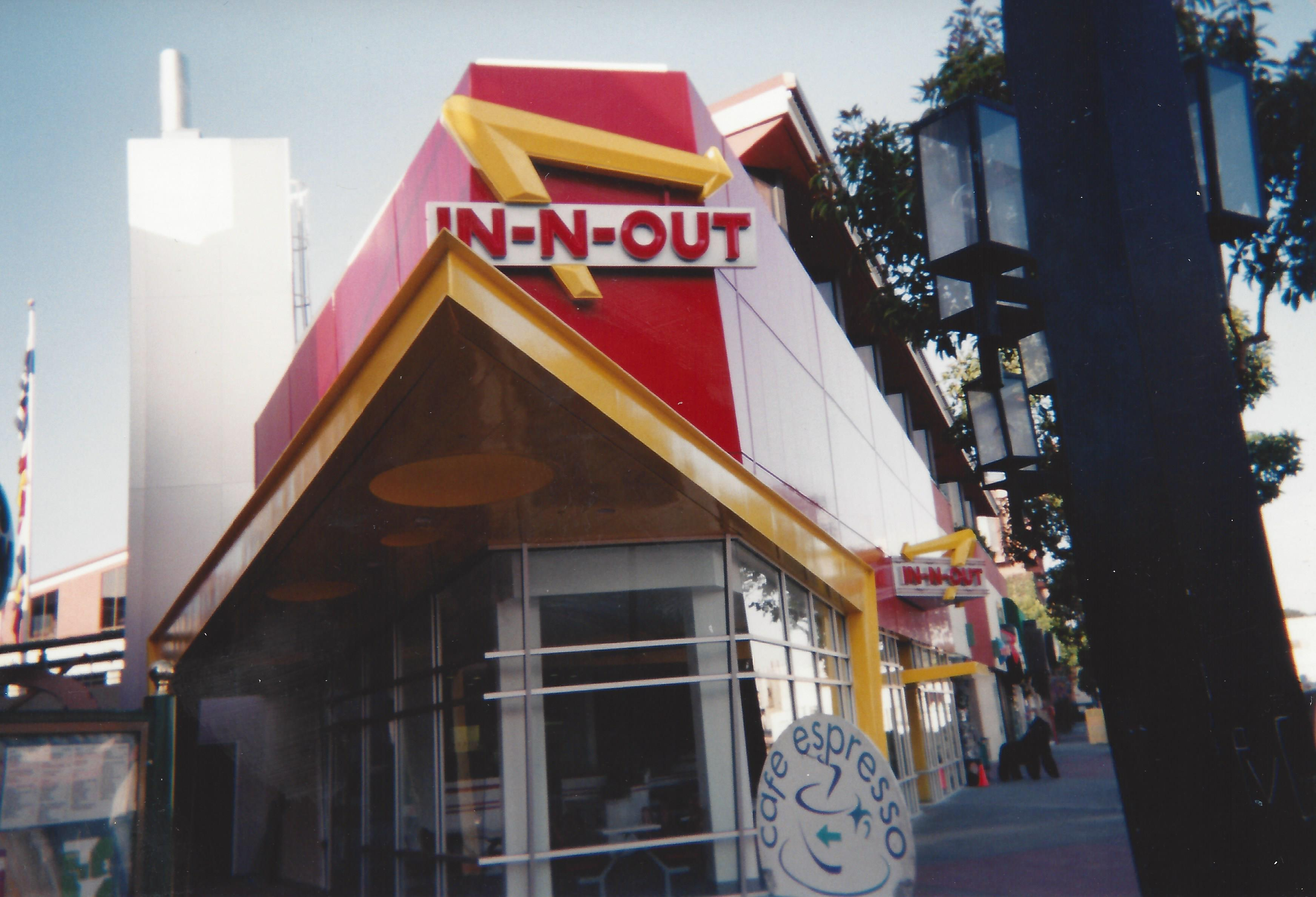 In-N-Out Burger Fisherman's Wharf San Fransisco
