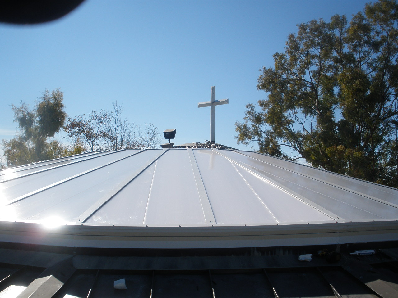 CPI Skylight - St. Elizabeths Church - Completed - Lighten Up, Inc. Skylight Contractor