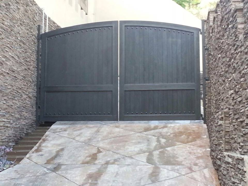 Residential Gates Residential Gates. Residential Wooden Garage Doors