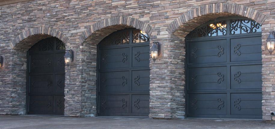 Garage Door And Gates 4 Less Residential Iron Garage